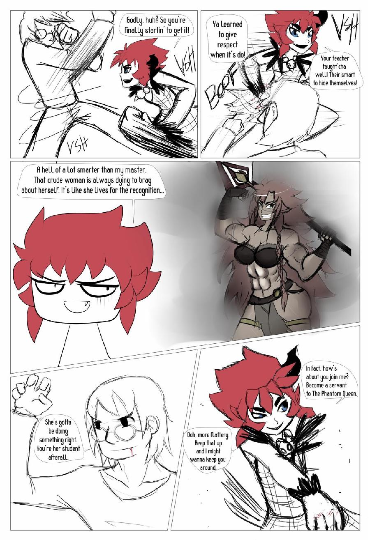 Character Battles II: Zachary Vs Morrigan page 19
