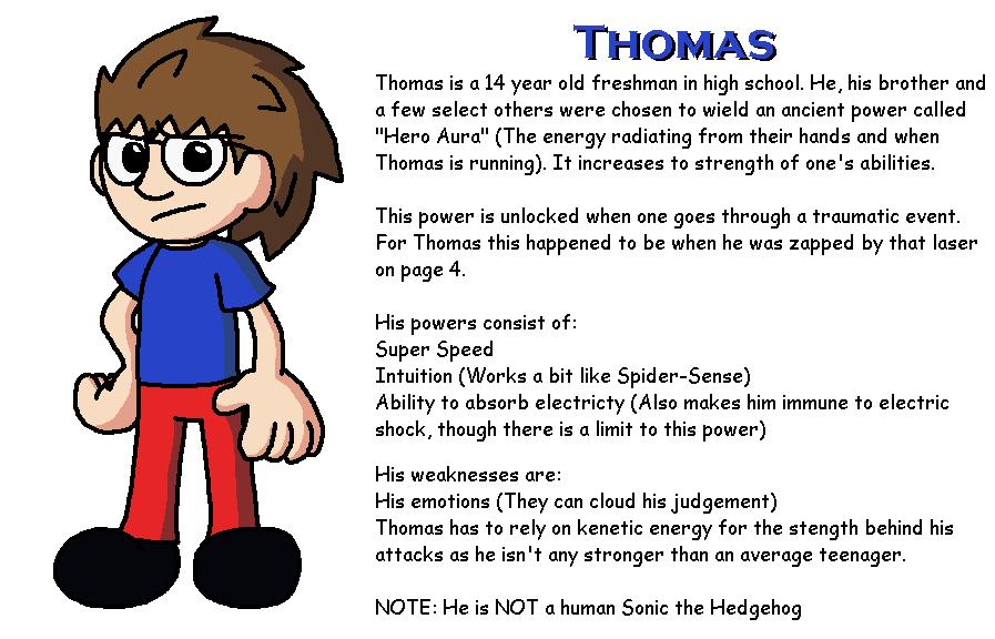 T&Z Character Bios: Thomas