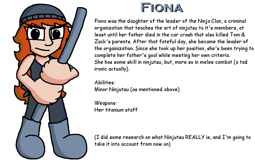 T&Z Character Bios: Fiona