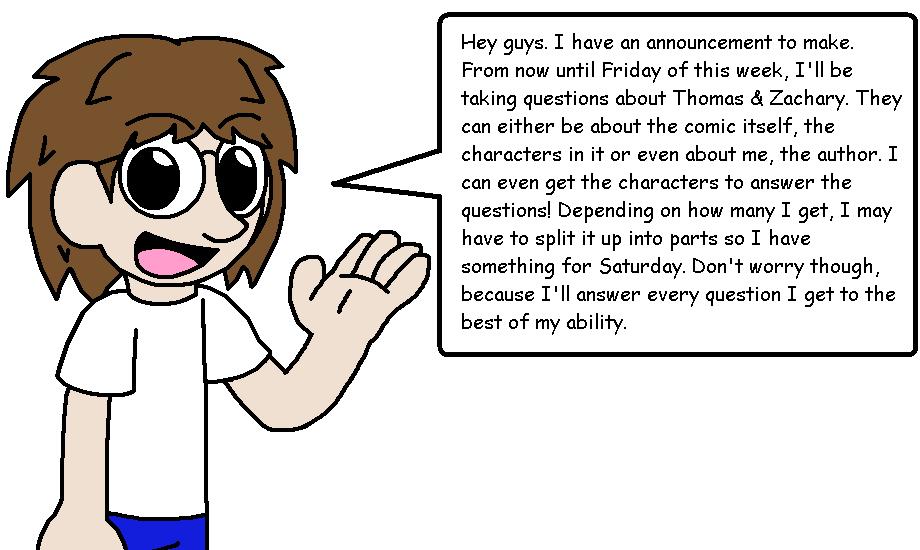 Q&A announcement