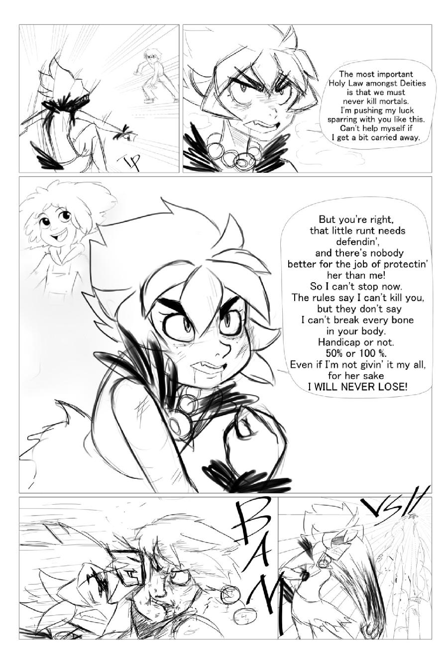 Character Battles II: Zachary Vs Morrigan page 9