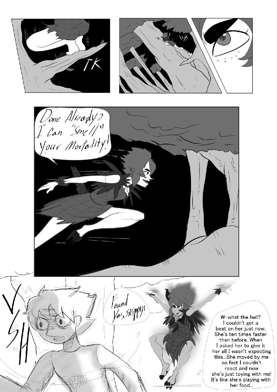 Character Battles II: Zachary Vs Morrigan page 11