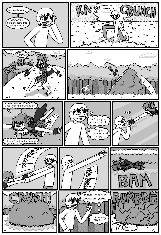 Character Battles II: Zachary Vs Morrigan page 16
